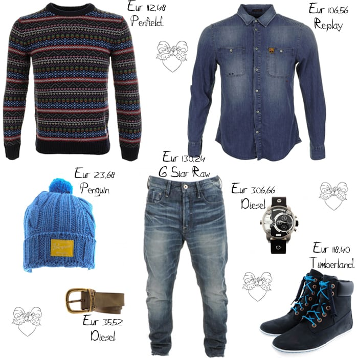 Style your boyfriend for Christmas