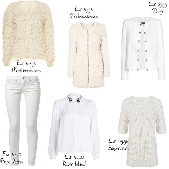 Fashion Trend   Winter White