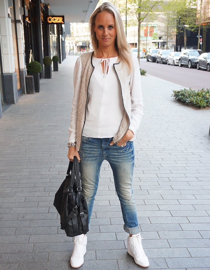 White & Jeans