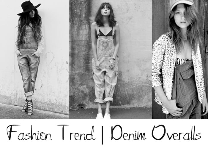 Fashion Trend | Denim Overalls