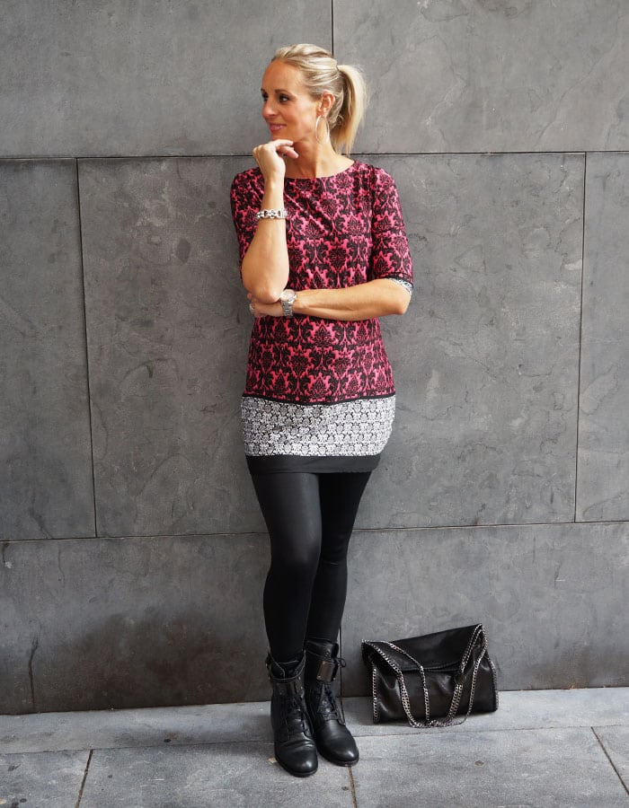 Outfit Paisley print