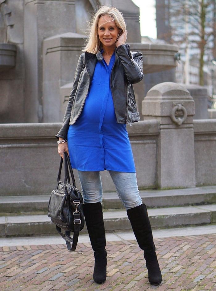 Dazzling-blue-dress-3