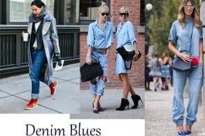 How to wear | Blue denim