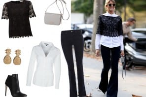 Inspiration Look #15 | The flared jeans