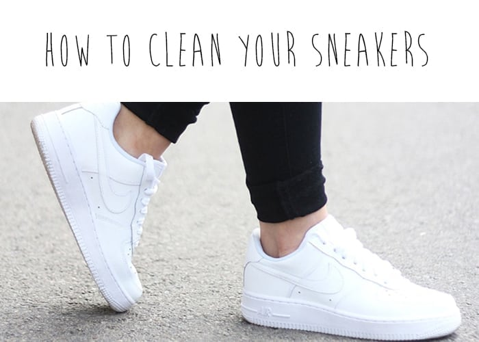 10 tips to keep white sneakers clean and pristine - How to clean shoes ...