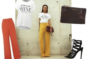 Inspiration Look #36 | The wide leg trousers