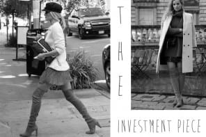 The Investment Piece | Overknee boots