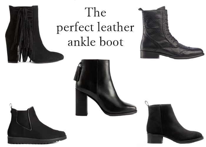 The perfect leather ankle boot | GIVE AWAY !!