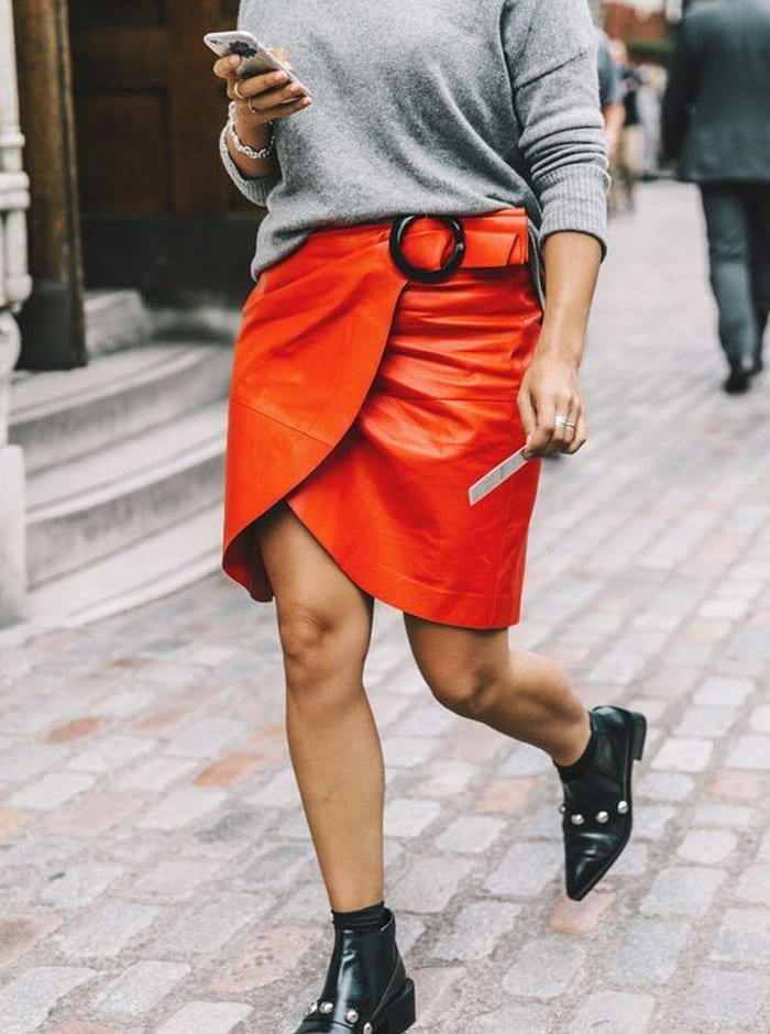 Fashion trend orange