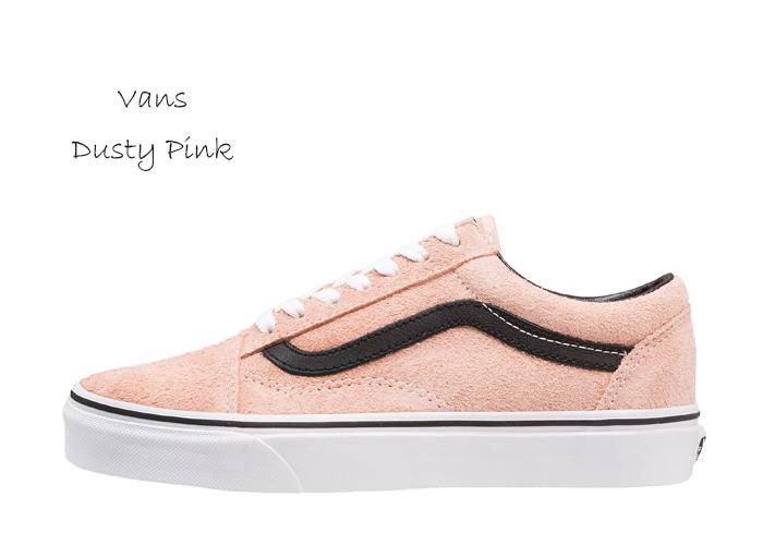Vans dusty pink