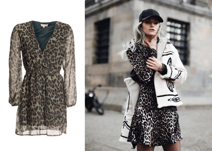 jurkje met luipaardprint