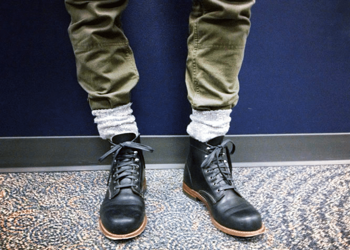 sokken met boots