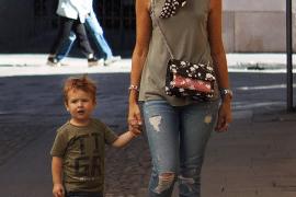 Chris en Milan in Milaan