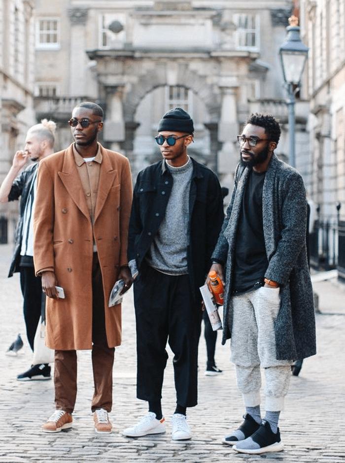 streetstyle mannen 2018