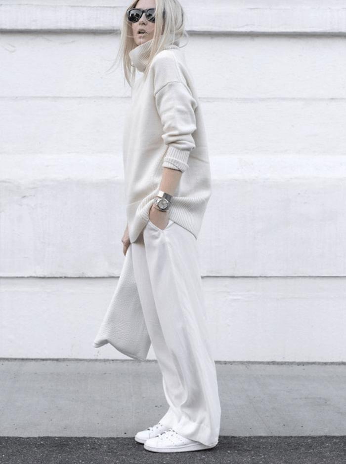 minimalistische outfit