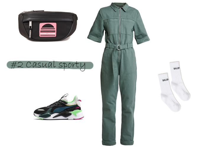 boilersuit sporty