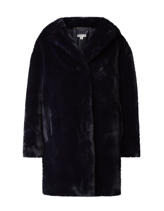 faux fur winterjassen